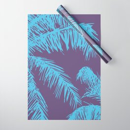 Ultra Violet Palm Print Wrapping Paper