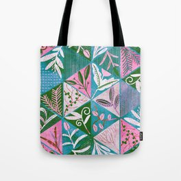 Specimens of wild grasses <sherbet pink> Tote Bag