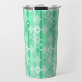 Green Lily Bear Travel Mug