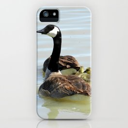 Protecting The Goslings iPhone Case