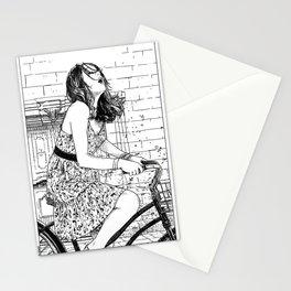 asc 340 - Les mystères de Barcelone V (The cobblestones in the Barrio Gotico) Stationery Cards