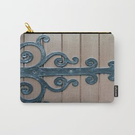 Church Door Hinge  Carry-All Pouch