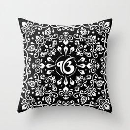 Ek Onkar / Ik Onkar Black and white #3Ek Onkar / Ik Onkar Black and white #3 Throw Pillow