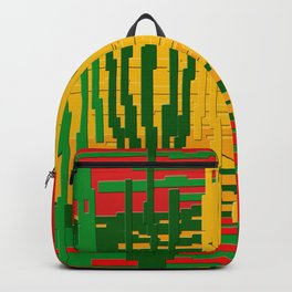 Crayon Invaders Backpack