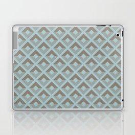 Two-toned square pattern Laptop & iPad Skin