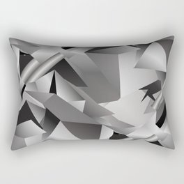 Geometric Rectangular Pillow