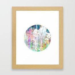 DECOMPOSE IV Framed Art Print