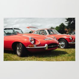 Jaguar E-Type Rug