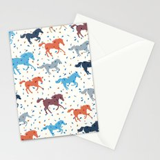 Horse Print Stationery Cards