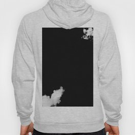 black & white clouds #2 Hoody