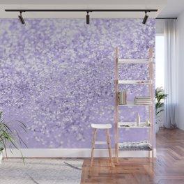 Lavender Glitter Dream #1 #shiny #decor #art #society6 Wall Mural