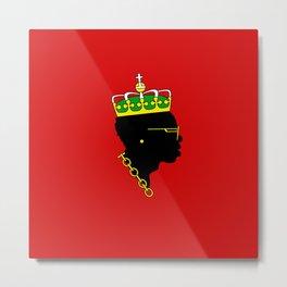 Big Maestro - Red Metal Print