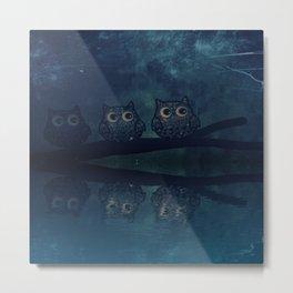 owl-84 Metal Print