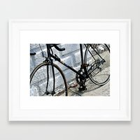 yowamushi pedal Framed Art Prints featuring Urban Pedal by Art By Amarose