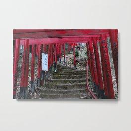 A Thousand Torii Gates Metal Print