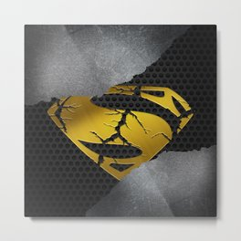 Superman is Dead Metal Print