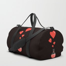 Love Chemistry Flask of Hearts Duffle Bag