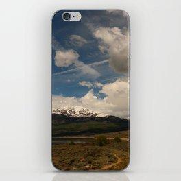 Dramatic Sky Over Twin Lakes Colorado iPhone Skin