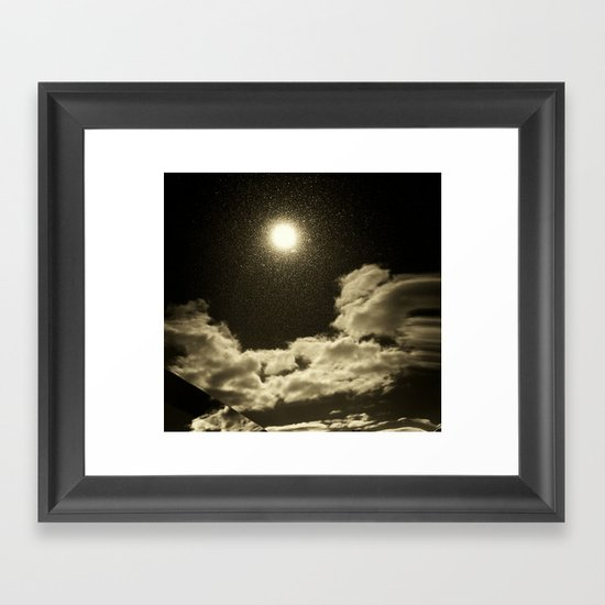 Signs in the Sky Collection - I Framed Art Print