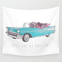 The See Us Rollin' Wall Tapestry