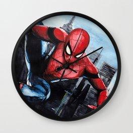 Spider-man: Homecoming Wall Clock