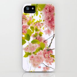 Pink Cherry Blossom Japanese Spring Beauty iPhone Case