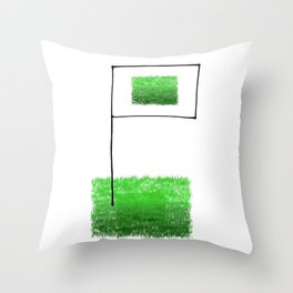 Conquer the fields! Throw Pillow