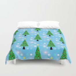 Christmas Repeat Duvet Cover