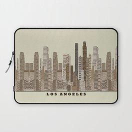 los angeles city Laptop Sleeve