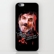 THERE WILL BE BLOOD (Daniel Plainview) iPhone & iPod Skin