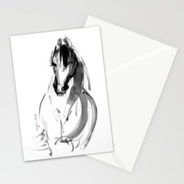 Horse (Inky) Stationery Cards