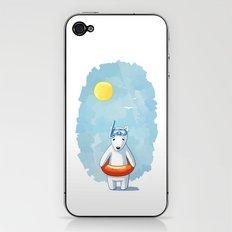 Polar Beach iPhone & iPod Skin