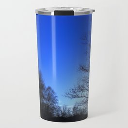Clear Winter's Evening Travel Mug