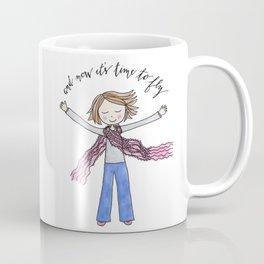 Time To Fly By Jennie Moraitis Coffee Mug