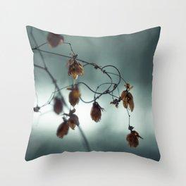 Frost & beauty III Throw Pillow