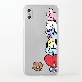 BT21 Stacked Clear iPhone Case