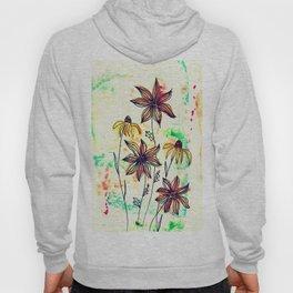bohemian wild flowers Hoody