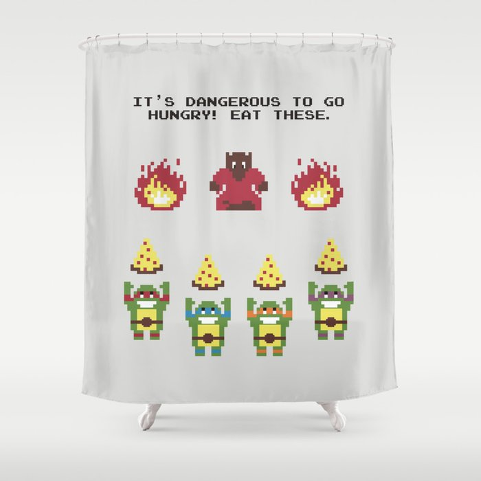 The Legend Of Pizza Shower Curtain By Byway