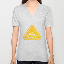 Shield Triangle Softair Airsoft BBs Gift Unisex V-Neck