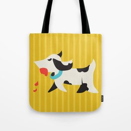 Zombie Dog Harriet Tote Bag