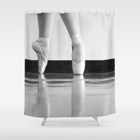 ballet Shower Curtains featuring Ballet by SERL.