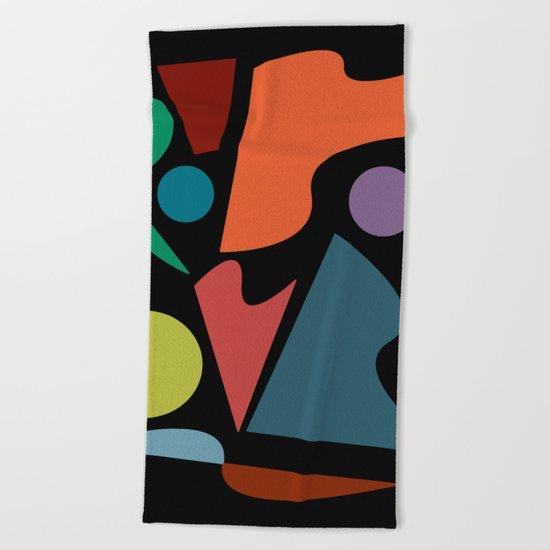 Abstract #205 Beach Towel