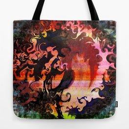 Swirled Tree Tote Bag