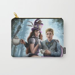 Steampunk Alex in Wonderland and the Madhatter Carry-All Pouch