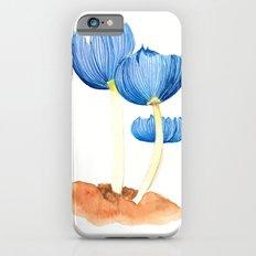 Blue fungi Slim Case iPhone 6s