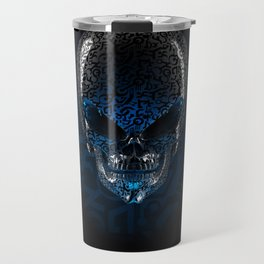 Alien Skull Travel Mug