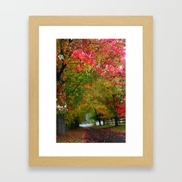 Oregon zoo Framed Art Print