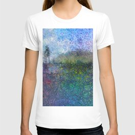 The Hill - Abstract Modern colourful T-shirt