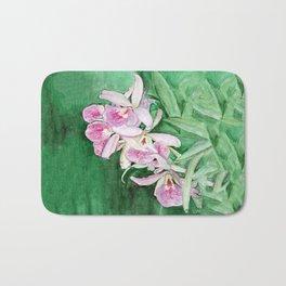 Orchid Cascade Bath Mat