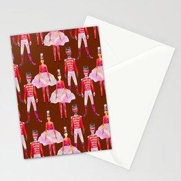 Nutcracker Ballet - Chocolate Brown Stationery Cards